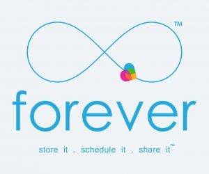forever app official logo and slogan